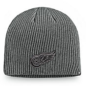 NHL Men's Detroit Red Wings Marled Tech Knit Beanie