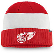 NHL Men's Detroit Red Wings Alternate Cuff Knit Beanie