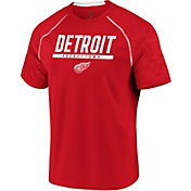 NHL Men's Detroit Red Wings Mission Red T-Shirt