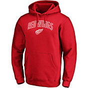 NHL Men's Detroit Red Wings Engage Red Pullover Hoodie