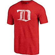 NHL Men's Detroit Red Wings Throwback Red T-Shirt