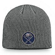 NHL Men's Buffalo Sabres Marled Tech Pom Knit Beanie
