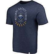 Majestic Men's Buffalo Sabres Static Fade Navy T-Shirt