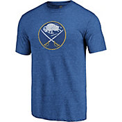 NHL Men's Buffalo Sabres Throwback Royal T-Shirt