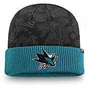 NHL Men's San Jose Sharks Iconic Cuff Knit Beanie