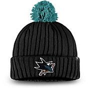 NHL Men's San Jose Sharks Pom Knit Beanie