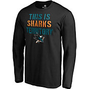 NHL Men's San Jose Sharks 'Sharks Terriorty' Black Long Sleeve Shirt