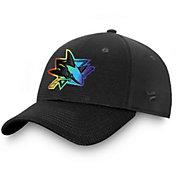 NHL Men's San Jose Sharks Authentic Pro Pride Flex Hat