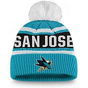 NHL Women's San Jose Sharks Pom Knit Beanie