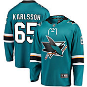 NHL Men's San Jose Sharks Erik Karlsson #65 Breakaway Home Replica Jersey