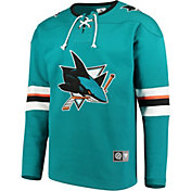 NHL Men's San Jose Sharks Breakaway Teal Sweatshirt
