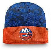 NHL Men's New York Islanders Iconic Cuff Knit Beanie