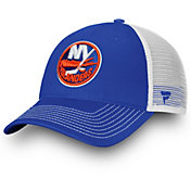 NHL Men's New York Islanders Blue Trucker Adjustable Hat