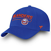 NHL Men's New York Islanders Authentic Pro Blue Adjustable Hat