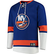 NHL Men's New York Islanders Breakaway Royal Crew Hoodie