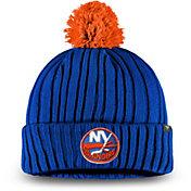 NHL Men's New York Islanders Pom Knit Beanie