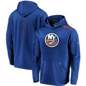 NHL Men's New York Islanders Authentic Pro Rinkside Fleece Royal Pullover Hoodie