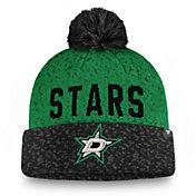 NHL Men's Dallas Stars Fan Weave Pom Knit Beanie