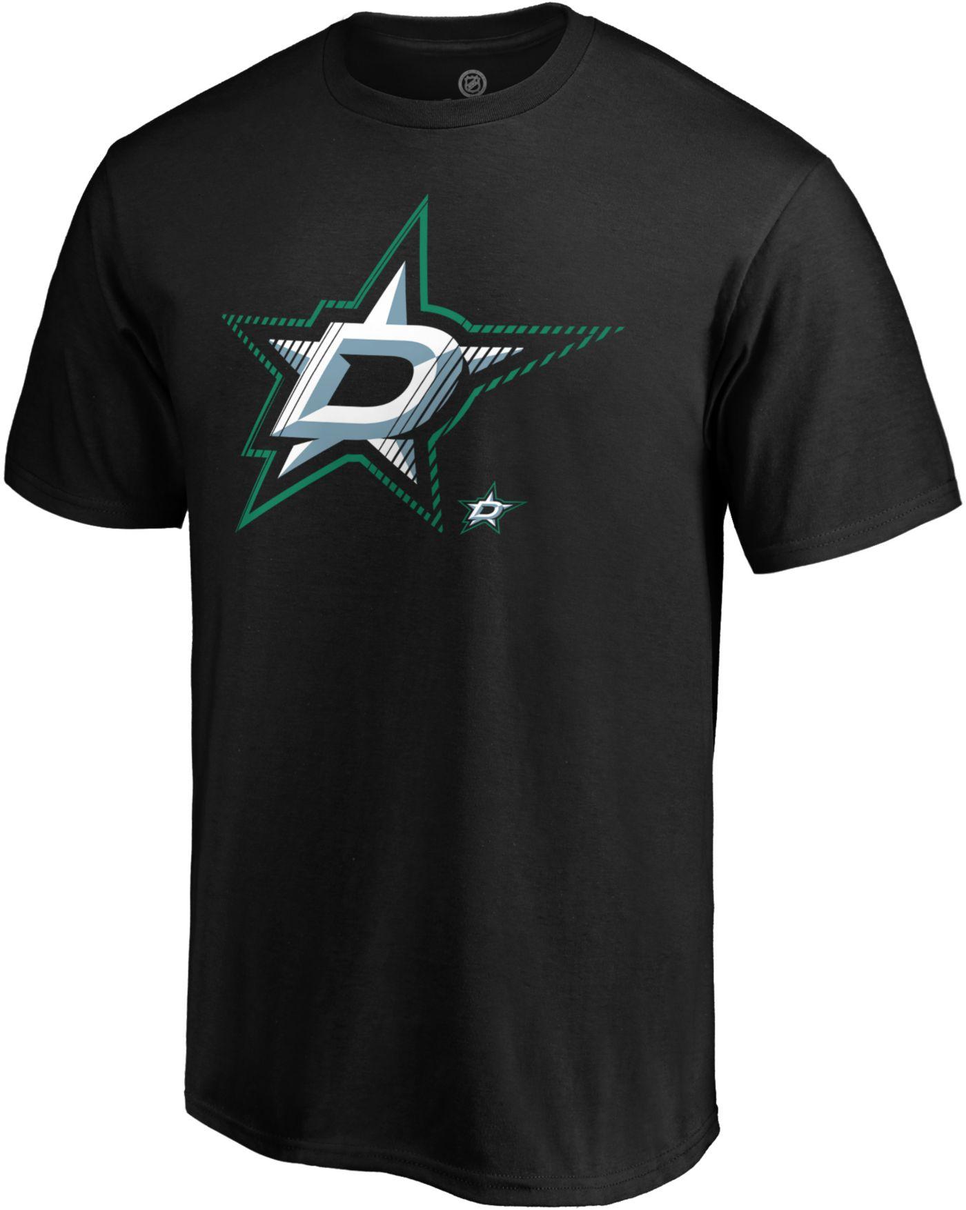 NHL Men's Dallas Stars Slash Dash Black T-Shirt