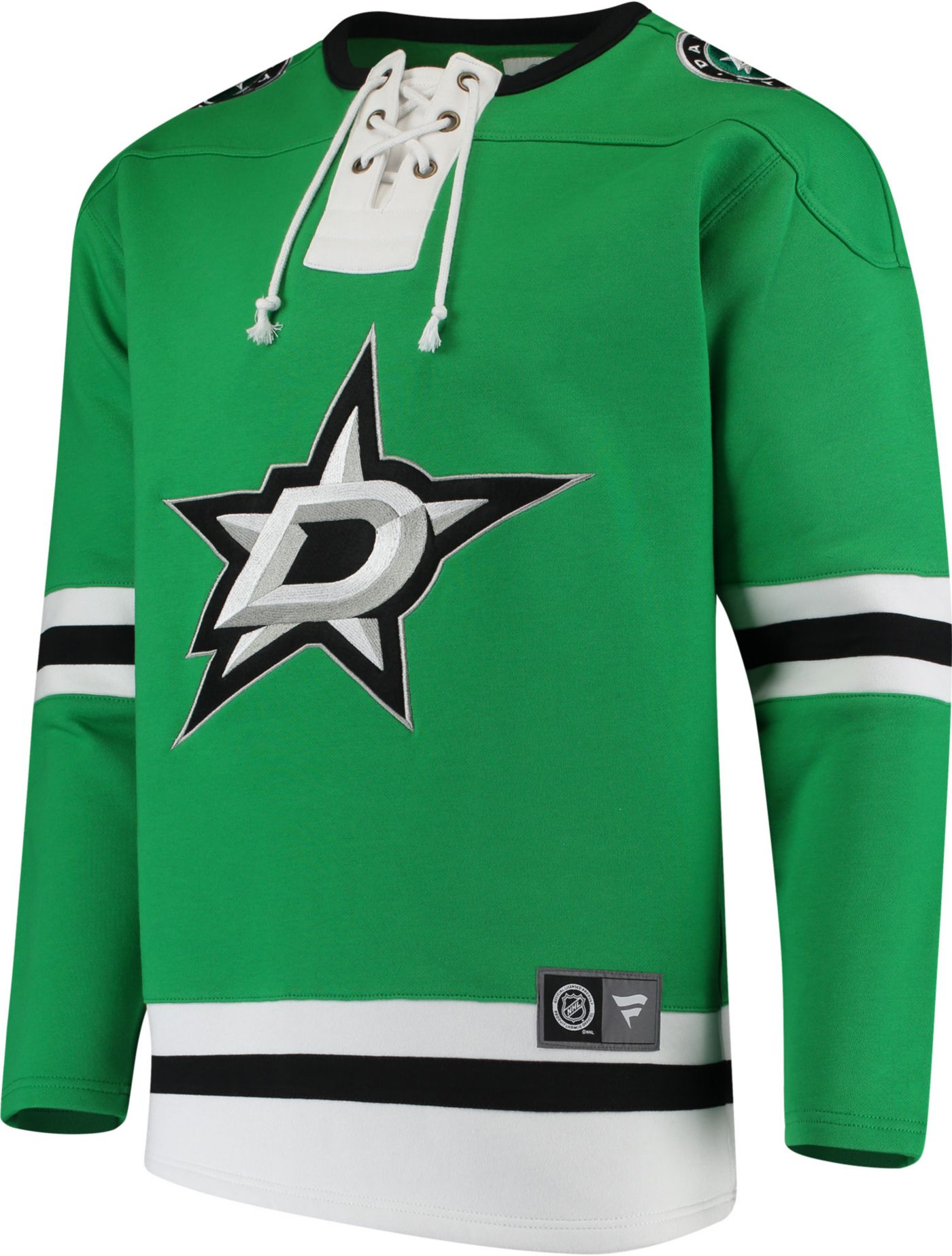 NHL Men's Dallas Stars Breakaway Green Pullover Sweatshirt