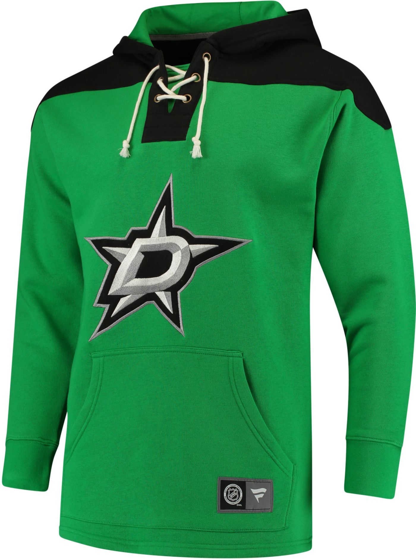 NHL Men's Dallas Stars Breakaway Green Hoodie