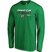 NHL Men's Dallas Stars 2019 NHL Stanley Cup Playoffs Green Long Sleeve Shirt