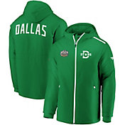 NHL Men's 2020 Winter Classic Dallas Stars Green Full-Zip Parka