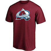 NHL Men's Colorado Avalanche Primary Logo Maroon T-Shirt