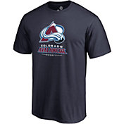 NHL Men's Colorado Avalanche Lockup Navy T-Shirt