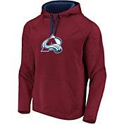 NHL Men's Colorado Avalanche Logo Maroon Pullover Hoodie