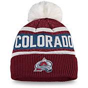 NHL Women's Colorado Avalanche Pom Knit Beanie