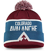 NHL Men's 2020 Stadium Series Colorado Avalanche Team Pom Knit Beanie