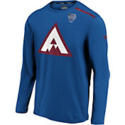 NHL Men's 2020 Stadium Series Colorado Avalanche Authentic Pro Blue Long Sleeve Shirt