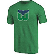 NHL Men's Hartford Whalers Throwback Green T-Shirt