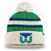 NHL Men's Hartford Whalers Classic Pom Knit Beanie