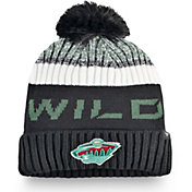 NHL Men's Minnesota Wild Rinkside Pom Knit Beanie