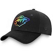 NHL Men's Minnesota Wild Authentic Pro Pride Flex Hat