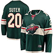 NHL Men's Minnesota Wild Ryan Suter #20 Breakaway Home Replica Jersey