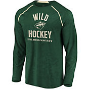 NHL Men's Minnesota Wild Destination Green Long Sleeve Shirt