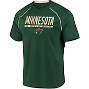 NHL Men's Minnesota Wild Mission Green T-Shirt