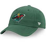NHL Men's Minnesota Wild Fundamental Adjustable Hat