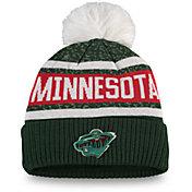 NHL Women's Minnesota Wild Pom Knit Beanie