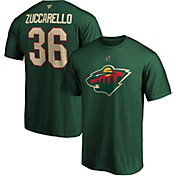 NHL Men's Minnesota Wild Mats Zuccarello #36 Green Player T-Shirt