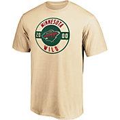 NHL Men's Minnesota Wild Grey Circle T-Shirt