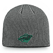 NHL Men's Minnesota Wild Marled Tech Pom Knit Beanie