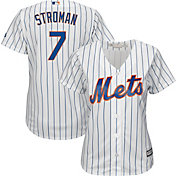 Majestic Women's Replica New York Mets Marcus Stroman #7 Cool Base Home White Jersey