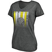 MLS Women's Columbus Crew Fun Grey Tri-Blend T-Shirt