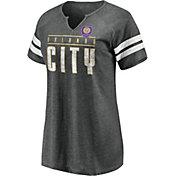 MLS Women's Orlando City Gray Notch Neck T-Shirt