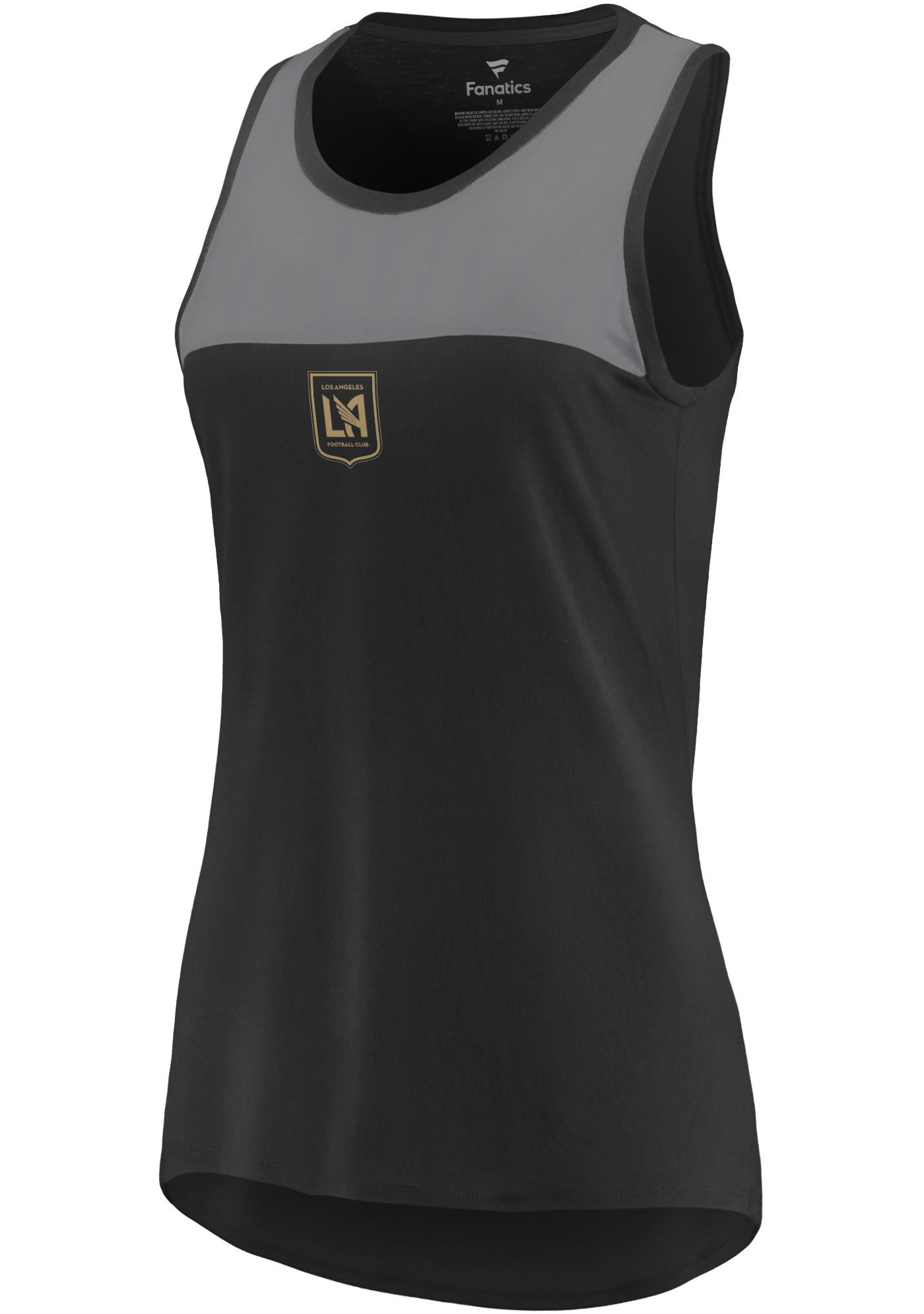 MLS Women's Los Angeles FC Break Black Tank