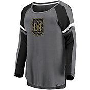 MLS Women's Los Angeles FC Blocked Gray Long Sleeve Shirt